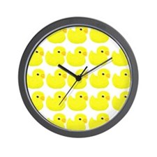 Rubber Ducks Wall Clock
