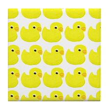 Rubber Ducks Tile Coaster