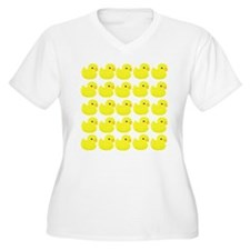 Rubber Ducks Plus Size T-Shirt