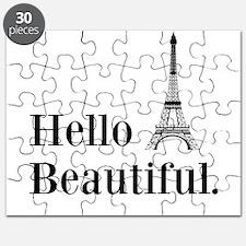 Hello Beautiful Eiffel Tower Puzzle