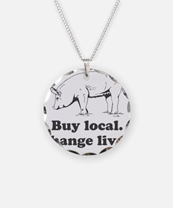 Buy local. Change lives. Necklace