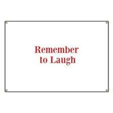 Remember to laugh (comedy) Banner