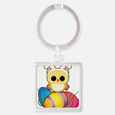 Easter Owl Keychains