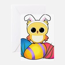 Easter Owl Greeting Cards