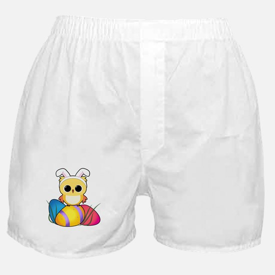 Easter Owl Boxer Shorts