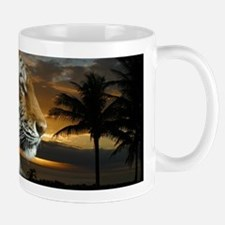 Tiger Sunset Mugs