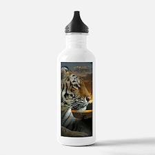 Tiger Sunset Water Bottle