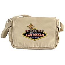 Fabulous Las Vegas Messenger Bag