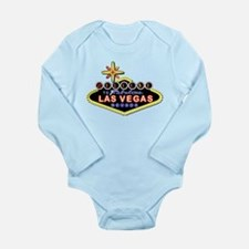 Fabulous Las Vegas Long Sleeve Infant Bodysuit