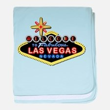 Fabulous Las Vegas baby blanket