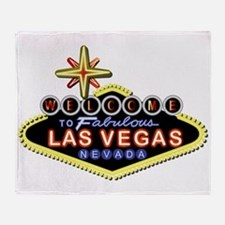 Fabulous Las Vegas Throw Blanket