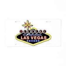 Fabulous Las Vegas Aluminum License Plate
