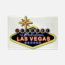 Fabulous Las Vegas Rectangle Magnet