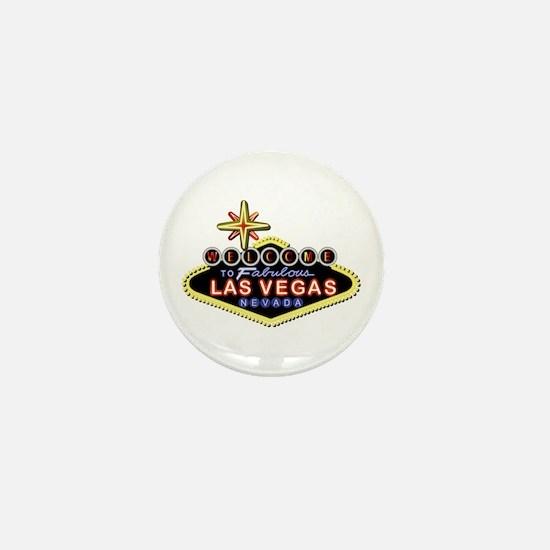 Fabulous Las Vegas Mini Button