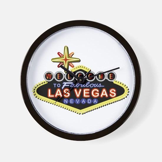 Fabulous Las Vegas Wall Clock