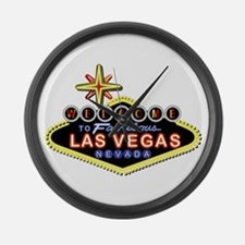 Fabulous Las Vegas Large Wall Clock