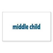 middle child Rectangle Decal