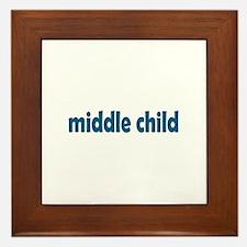 middle child Framed Tile