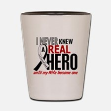 Carcinoid Cancer Real Hero 2 Shot Glass