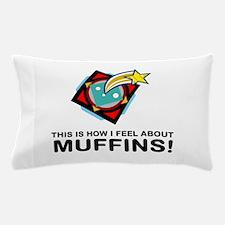 Muffin Eater Pillow Case