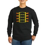 Triangle Glyph 04 H Long Sleeve Dark T-Shirt