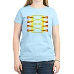 Triangle Glyph 04 H Women's Light T-Shirt