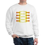 Triangle Glyph 04 H Sweatshirt