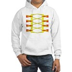 Triangle Glyph 04 H Hooded Sweatshirt
