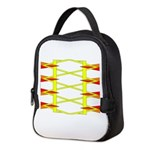 Triangle Glyph 04 H Neoprene Lunch Bag
