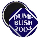 Blue Dump Bush 2004 Magnet (10 pack)