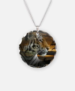Tiger Sunset Necklace