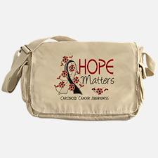 Carcinoid Cancer Hope Matters 3 Messenger Bag