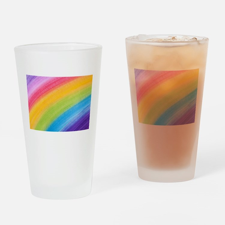 Acrylic Rainbow Drinking Glass