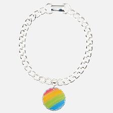 Acrylic Rainbow Bracelet