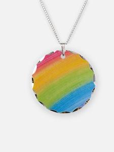 Acrylic Rainbow Necklace