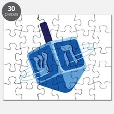 Hanukkah Dreidel Puzzle