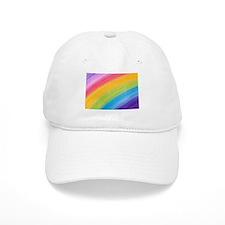 Acrylic Rainbow Baseball Baseball Cap