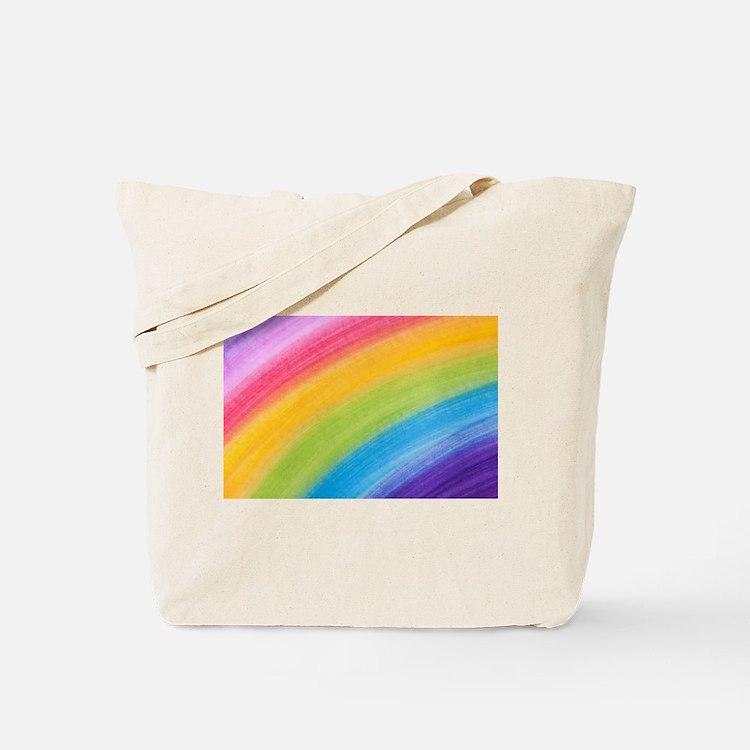 Acrylic Rainbow Tote Bag