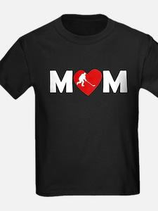 Hockey Heart Mom T-Shirt