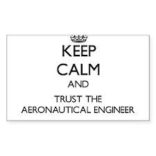 Keep Calm and Trust the Aeronautical Engineer Stic