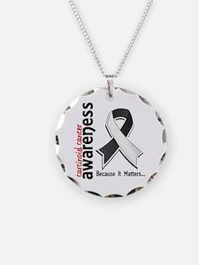 Carcinoid Cancer Awareness 5 Necklace
