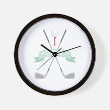 * GOLF * Wall Clock