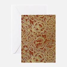 William Morris Poppy Greeting Cards