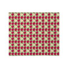 Apples Throw Blanket