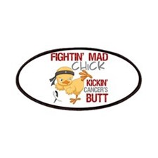 Carcinoid Cancer Fightin' Mad Chick Patches