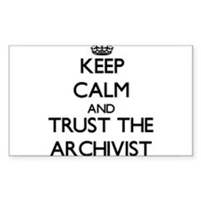 Keep Calm and Trust the Archivist Decal