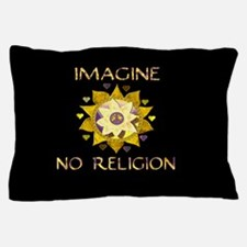 Imagine No Religion Pillow Case