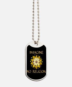 Imagine No Religion Dog Tags