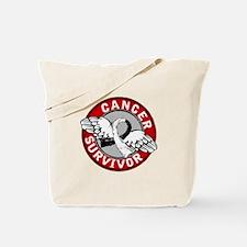 Carcinoid Cancer Survivor 14 Tote Bag