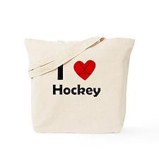 I Heart Hockey Tote Bag